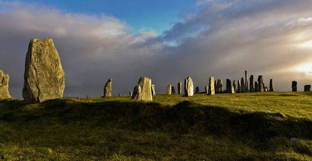 Scotland - Isle of Lewis, Standing Stones of Callanish